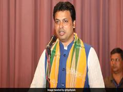 Tripura Chief Minister Biplab Deb Congratulates Class 10 Students