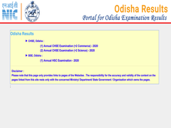CHSE Odisha Plus Two Commerce Result 2020 Live Updates: Class 12 Result Declared At Orissaresults.nic.in