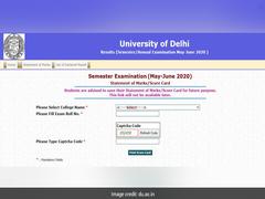 Delhi University Announces Result For UG Second, Fourth Semester