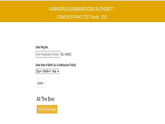 KCET 2020 Result Live Updates: Karnataka CET 2020 Result Declared At Kea.kar.nic.in