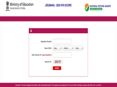 JEE Main Result 2020 Live Updates: Result Link Is Now Live; Direct Link Here
