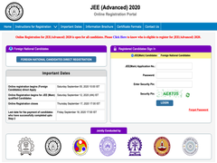 JEE Advanced 2020: Registration Begins At Jeeadv.nic.in; Direct Link, Steps To Apply, JEE Cut Off