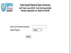 IGNOU TEE June 2020 Hall Ticket Released @Ignou.ac.in, Direct Link Here