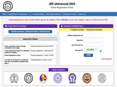 IIT JEE Advanced 2020 Registration Ends Today, Know How To Apply