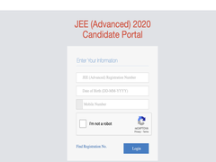 JEE Advanced Admit Card 2020 Released At Cportal.jeeadv.ac.in, Direct Link Here