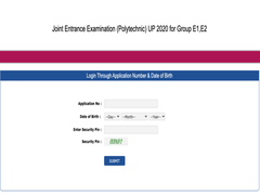 UPJEE JEECUP Polytechnic Result 2020 Announced At Jeecup.nic.in, Direct Link Here