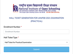 NIOS Admit Card 2021 Released For Class 10, 12 Practical Exams