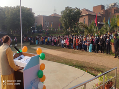 IGNOU Republic Day Celebrations: Vice Chancellor Addresses Students, Teachers