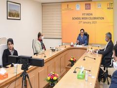 Kiren Rijiju Celebrates 'Fit India School Week' With Kendriya Vidyalaya Students