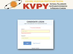 KVPY Admit Card 2021 Released, Direct Link Here