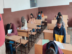 NTSE 2020 Stage Two Examination Held For Class 10 Students