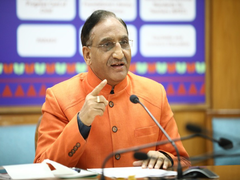 Free Textbooks To Students Of Class 6 To 12: Education Minister At Navodaya Vidyalaya Samiti Meeting