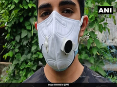 Kerala Student Designs ''Masks With Mics'' For Easy Communication