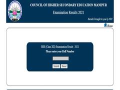 Manipur Declares Class 12 Result