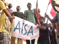 NEET 2021: AISA Protests Against 'Subversion' Of OBC Reservation