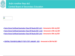 CBSE 12th Result 2021 (Declared) LIVE: CBSE Class 12 Result Announced