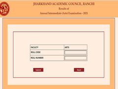 Jharkhand JAC 12th Result 2021 Live: Class 12 Result Announced