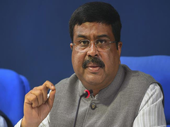 Dharmendra Pradhan Interacts With Directors Of Centrally Funded Institutions On His First Day