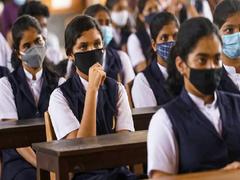 Uttar Pradesh Schools Reopen For Classes 9-12 With Covid Protocols