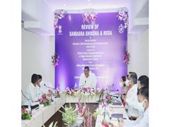 Education Minister Reviews Implementation Of Samagra Shiksha, RUSA In Odisha