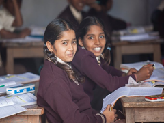 Primary Classes Of MP Schools Reopen After Break Due To COVID-19