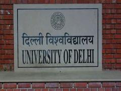 DU's Student Facilitation Centre To Come Up In Surajmal Vihar