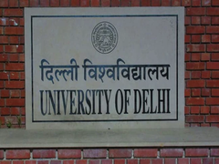 Foundation Stones Laid For Two Student Facilitation Centres Of DU