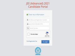 JEE Advanced 2021 Admit Card Released, Download Link Here