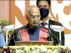 President Kovind Addresses Convocation Of Anna University