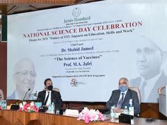 Jamia Hamdard Celebrates National Science Day