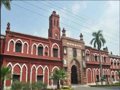 Yogi Adityanath Visits Aligarh Muslim University To Review COVID-19 Situation