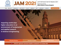 IIT JAM Registration 2021: Last Date Extended, Apply Till October 17