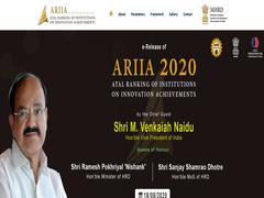 Vice-President To Announce ARIIA 2020 Rankings Tomorrow