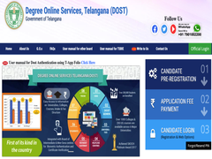 Telangana Dost Seat Allotment 2020 First List Released, Details Here
