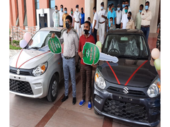 Jharkhand Education Minister Gifts Cars To Class 10, 12 Board Toppers
