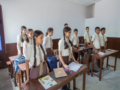 Primary, Middle Schools Resume Physical Classes In Kashmir