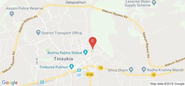Tinsukia College Road, Kachujan, Tinsukia, Assam, India