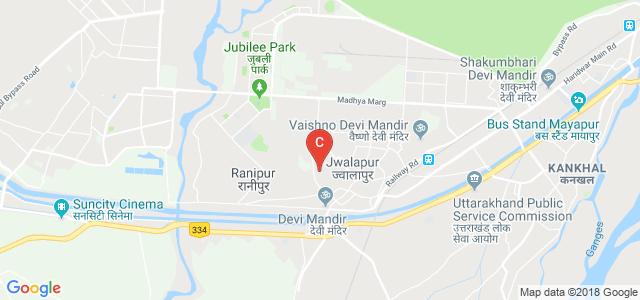 Jwalapur, Haridwar, Uttarakhand 249407, India