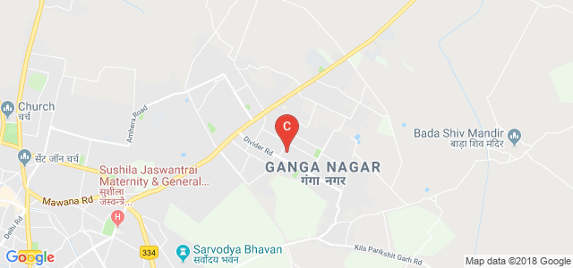 Mawana Road, Ganga Nagar, Meerut, Uttar Pradesh, India