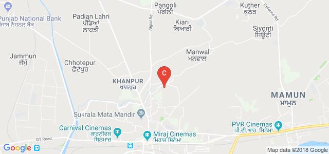Guru Nanak Dev University College, Lamini, Pathankot, Punjab, India