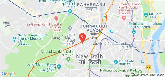 Morarji Desai National Institute of Yoga, Gol Dak Khana Roundabout, Pandit Pant Marg Area, Sansad Marg Area, New Delhi, Delhi, India