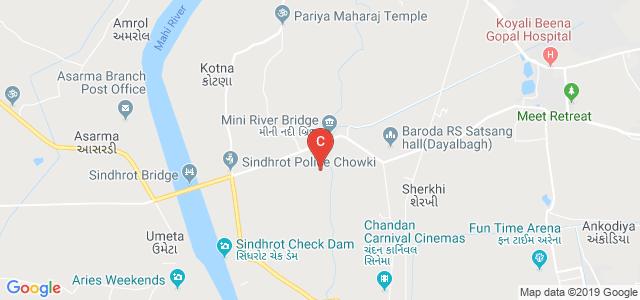 Atmiya Pharmacy College, Vadodara, Gujarat, India