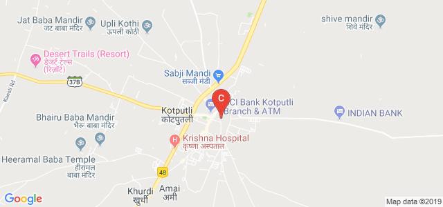 Kotputli, Jaipur, Rajasthan 303108, India