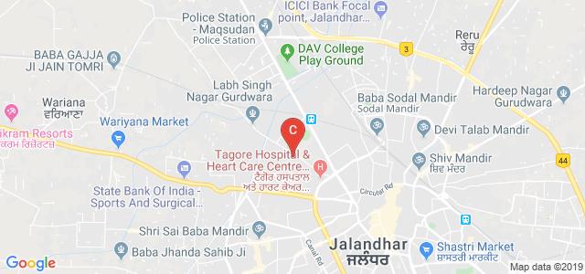 Lala Lajpat Rai Institute of Pharmacy (Jalandhar), Gulab Devi Road, Opposite Burlton Park, Arya Nagar, Jalandhar, Punjab, India