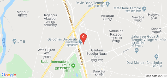 Galgotias University, Sector 17A, Phase II, Knowledge Park III, Greater Noida, Uttar Pradesh, India