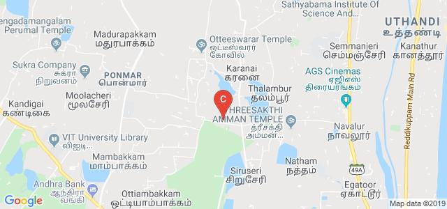 Agni College of Technology, Chennai, Tamil Nadu, India