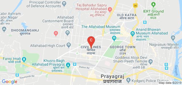 Sardar Patel Marg, Gayatripuram Colony, Civil Lines, Allahabad, Uttar Pradesh, India