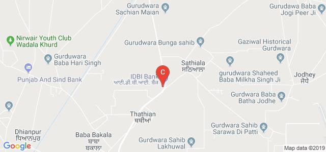 GNDU Regional Campus Sathiala, Sathiala, Punjab, India