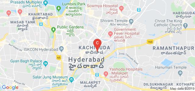 Badruka College PG Centre, Rahamath Bagh, Mahalaxmi Nilayam, Kachiguda, Hyderabad, Telangana, India