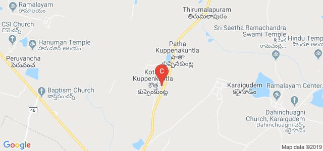 Sree Rama Institute of Technology & Science, Kotha Kuppenkuntla, Khammam, Telangana, India